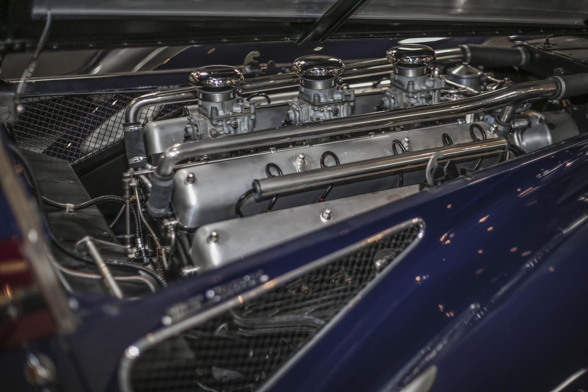1937 Delahaye 4.5-liter V-12 engine