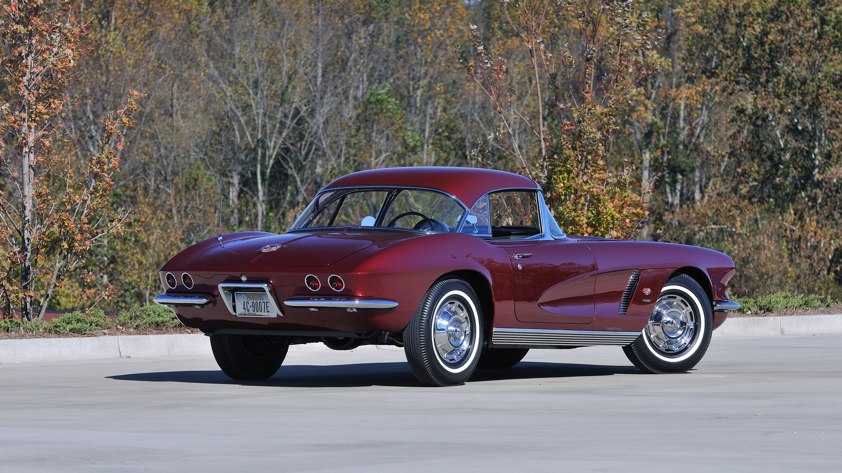 1962 Chevrolet Corvette rear 3/4