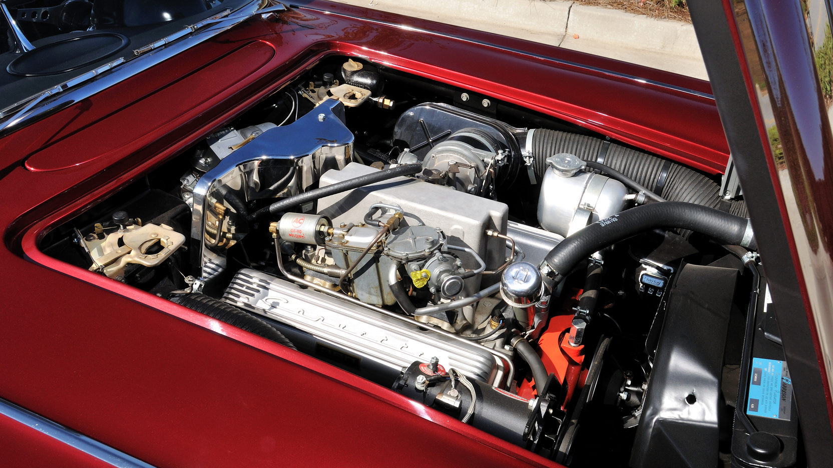 1962 Chevrolet Corvette 327 engine