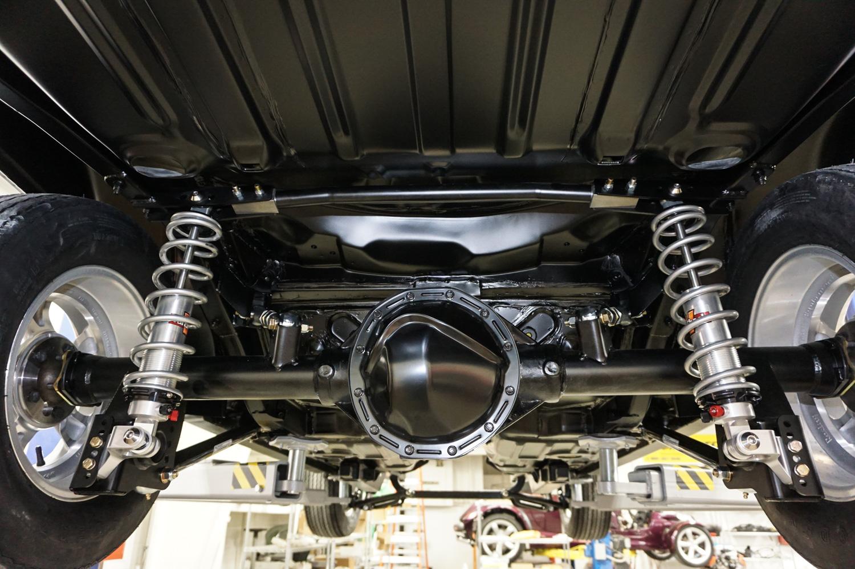 Yenko camaro new muscle car suspension rear axle