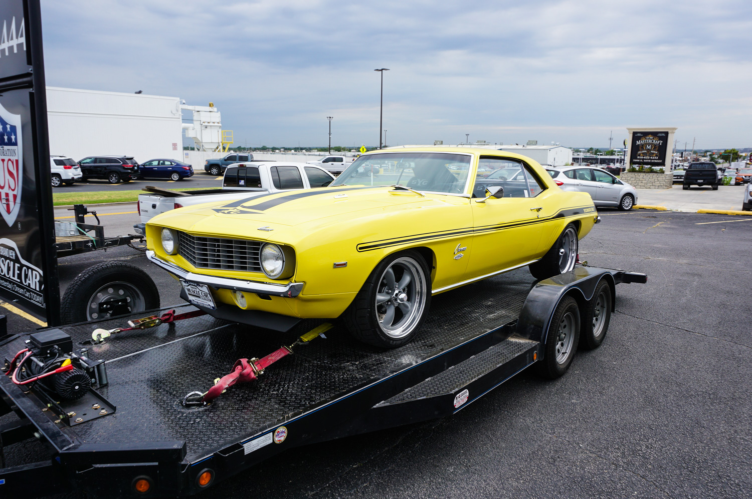 The first officially licensed 1969 Yenko continuation Camaro.