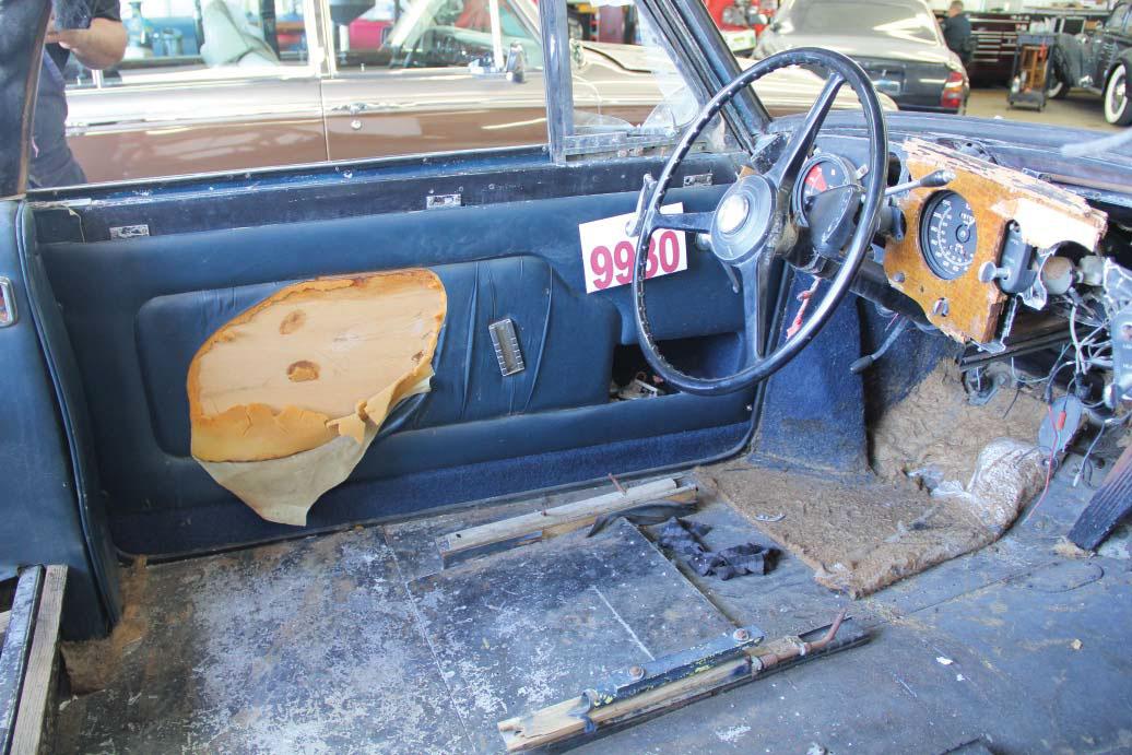 1958 Bentley Saddam Hussein bullets