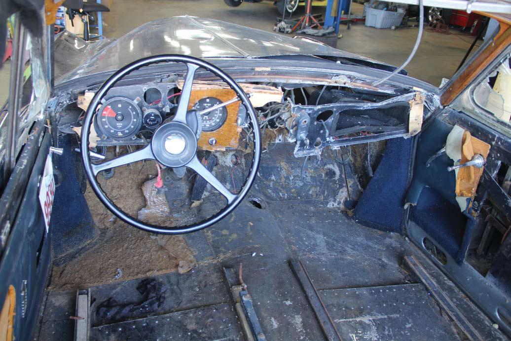 1958 Bentley Saddam Hussein bullets interior dash
