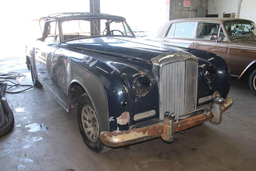1958 Bentley Saddam Hussein bullets front 3/4 passenger
