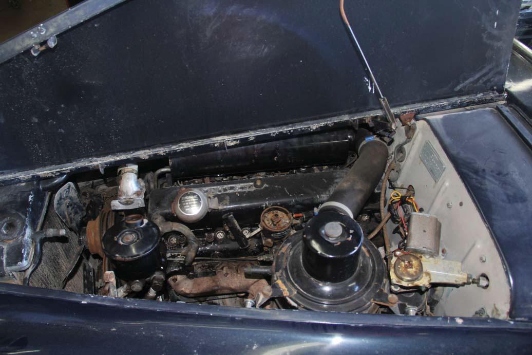 1958 Bentley Saddam Hussein bullets engine
