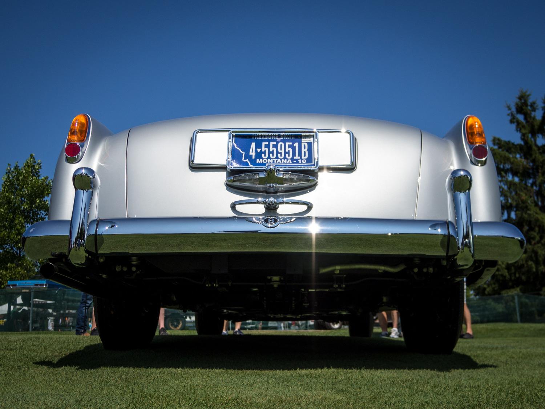 1958 Bentley Saddam Hussein bullets rear low