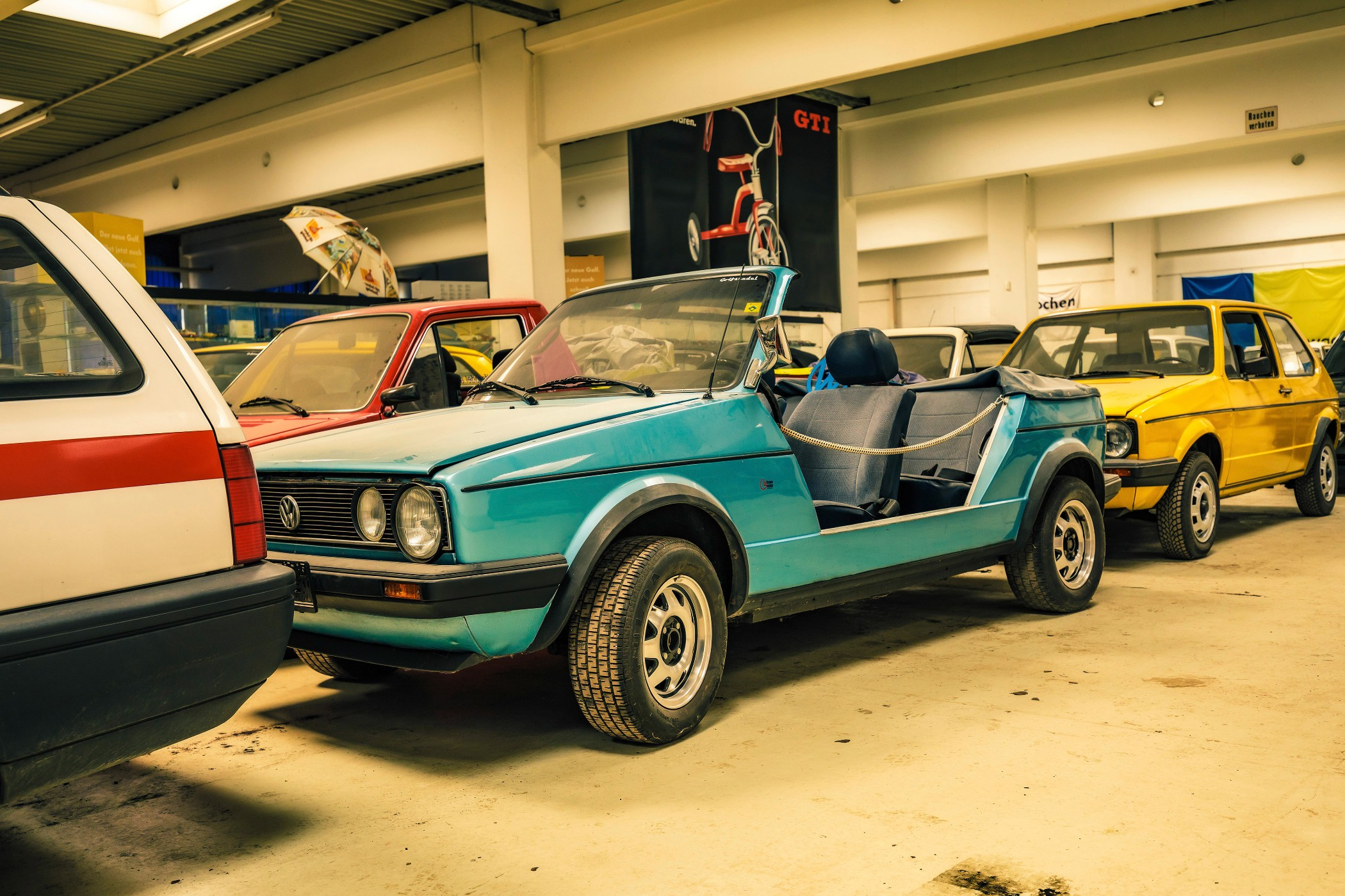 vw golf collection teal jeep golf