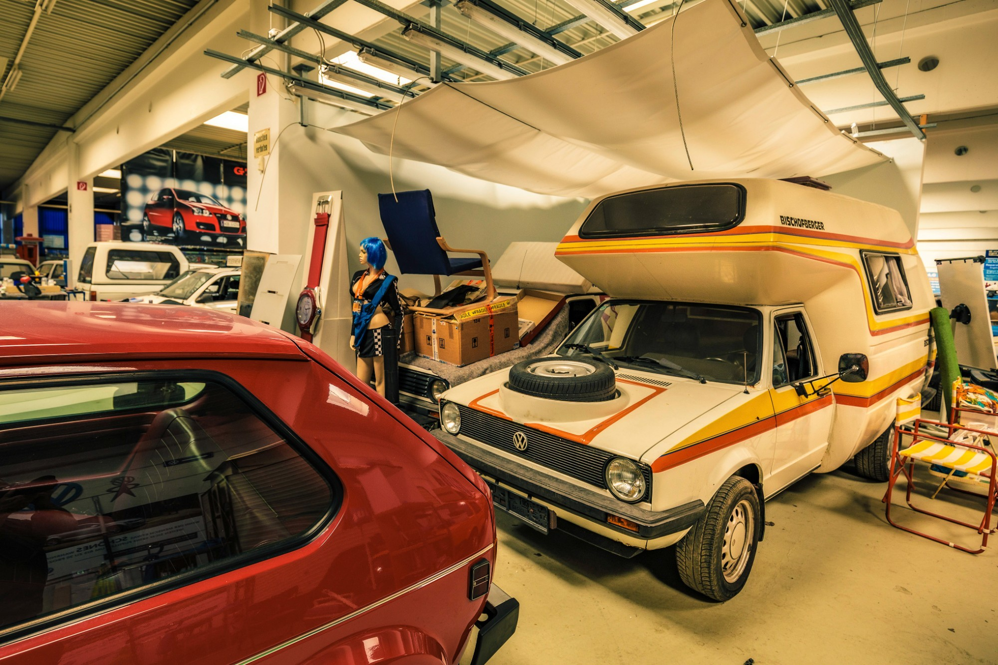 vw golf collection camper special