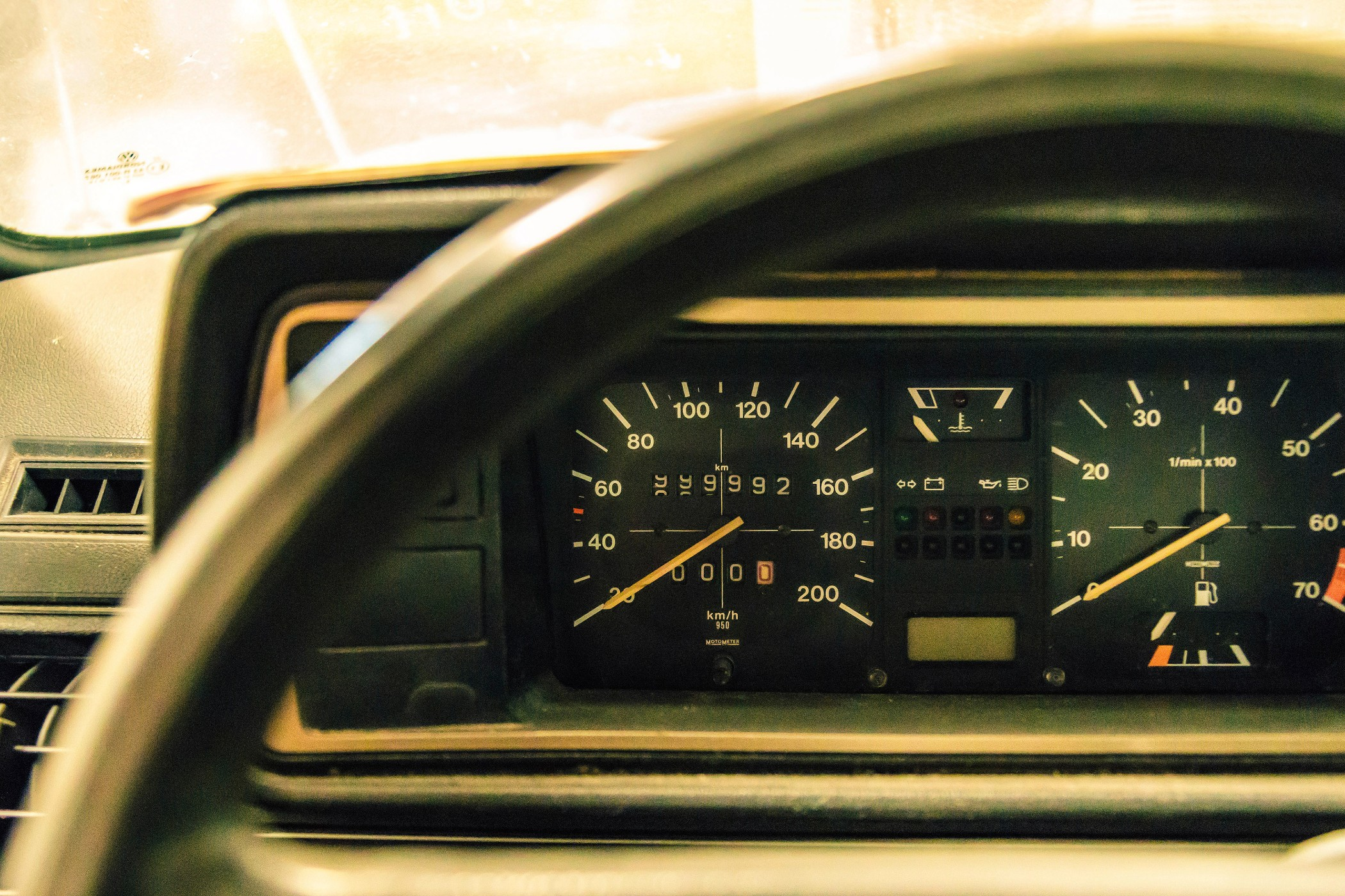 vw golf collection dashboard
