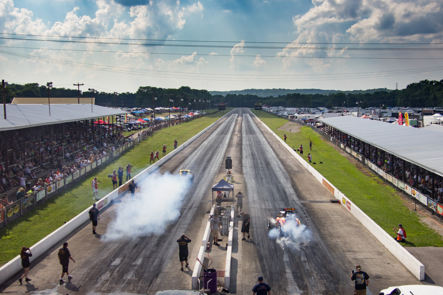 The quick and the fast at NHRA Hot Rod Reunion thumbnail