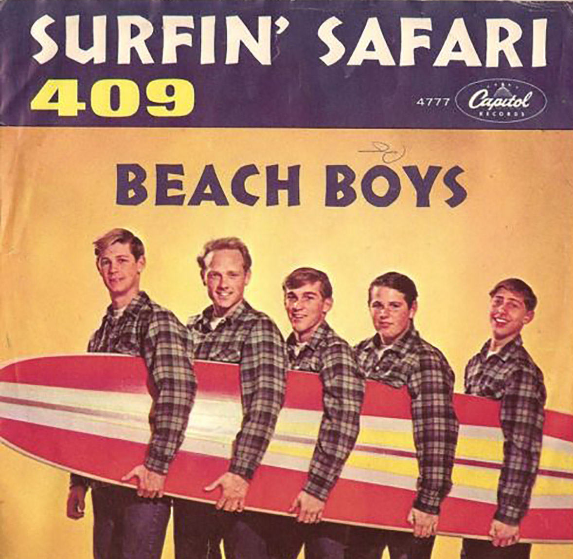 Beach Boys Surfin' Safari and 409