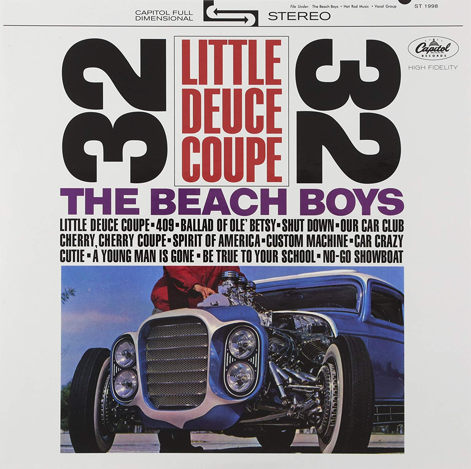 The Beach Boy Little Deuce Coupe