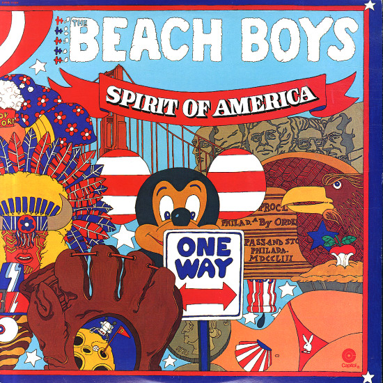 The Beach Boys Spirit of America