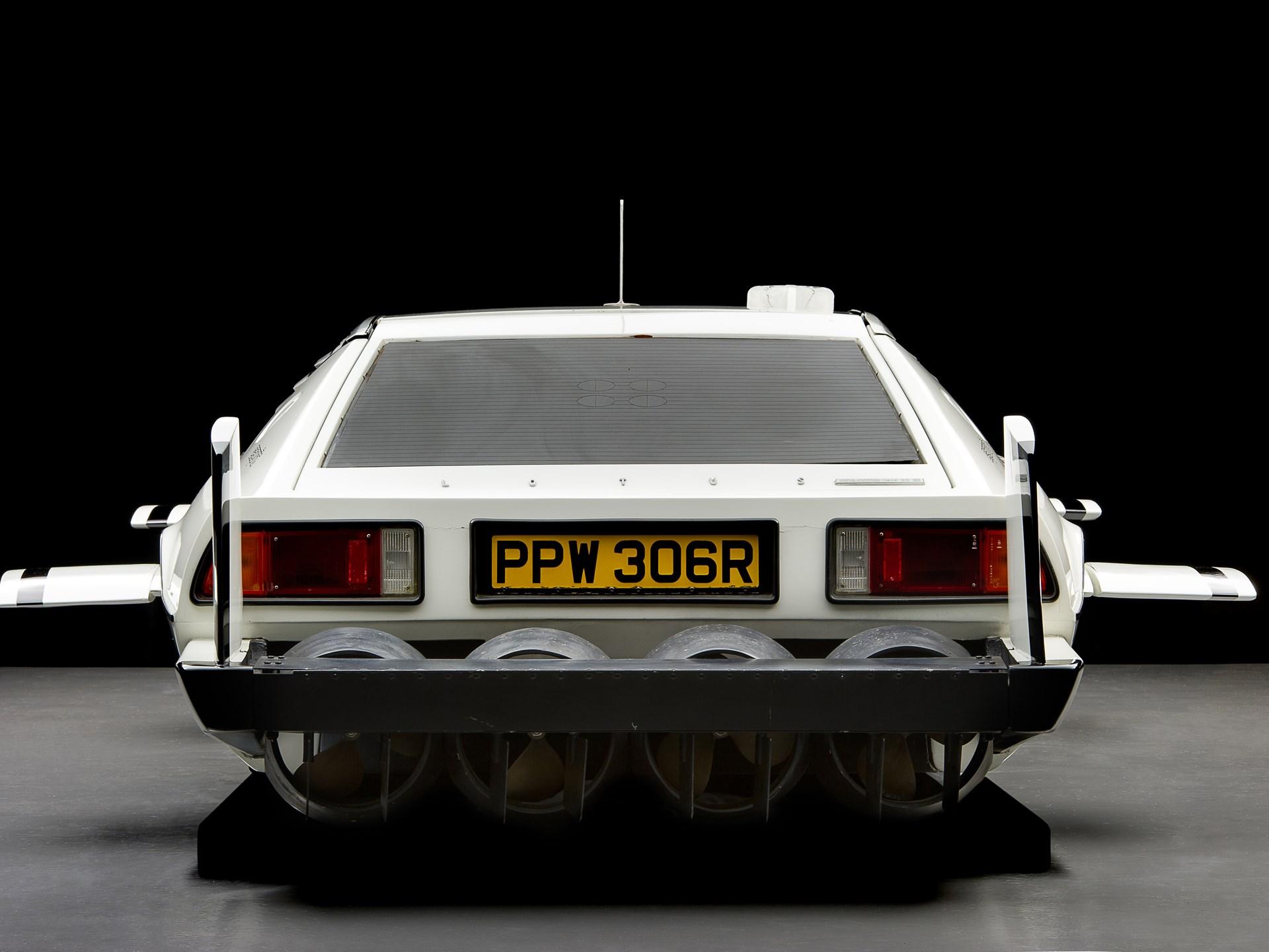 007 Lotus Esprit 'Submarine Car' rear view