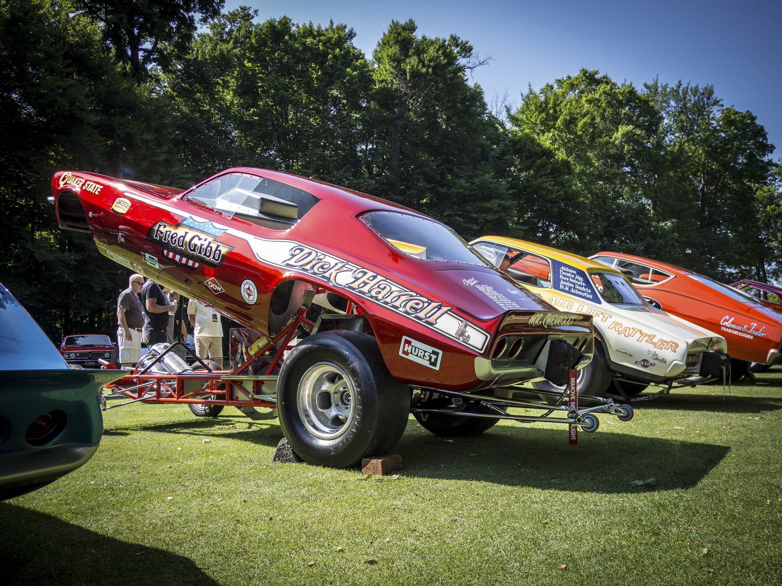 Concours of America Funny cars