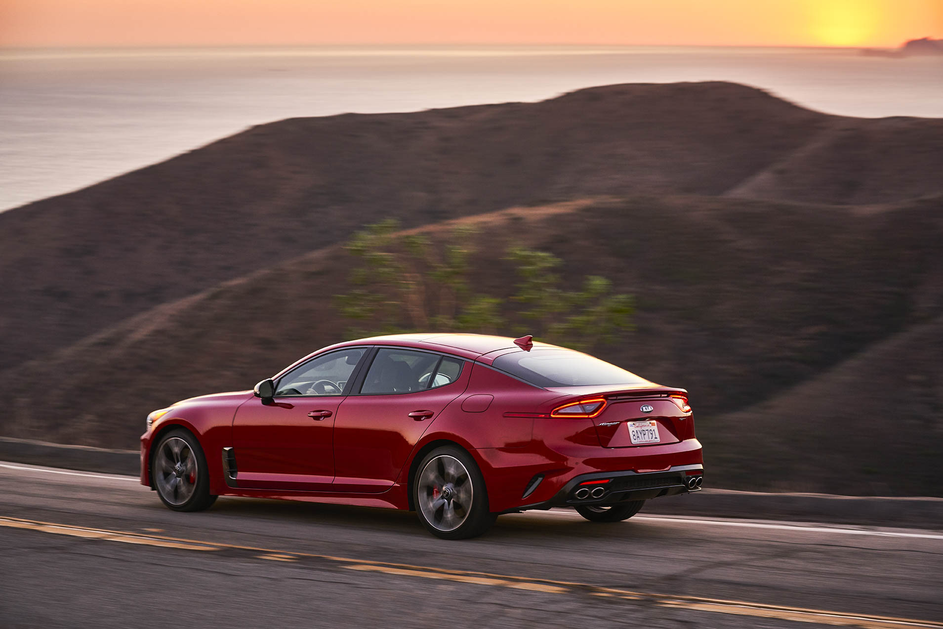 Kia came to America as a budget brand peddling basic transport. But people can't deny (can they?) that the Stinger has real swagger and legit performance.