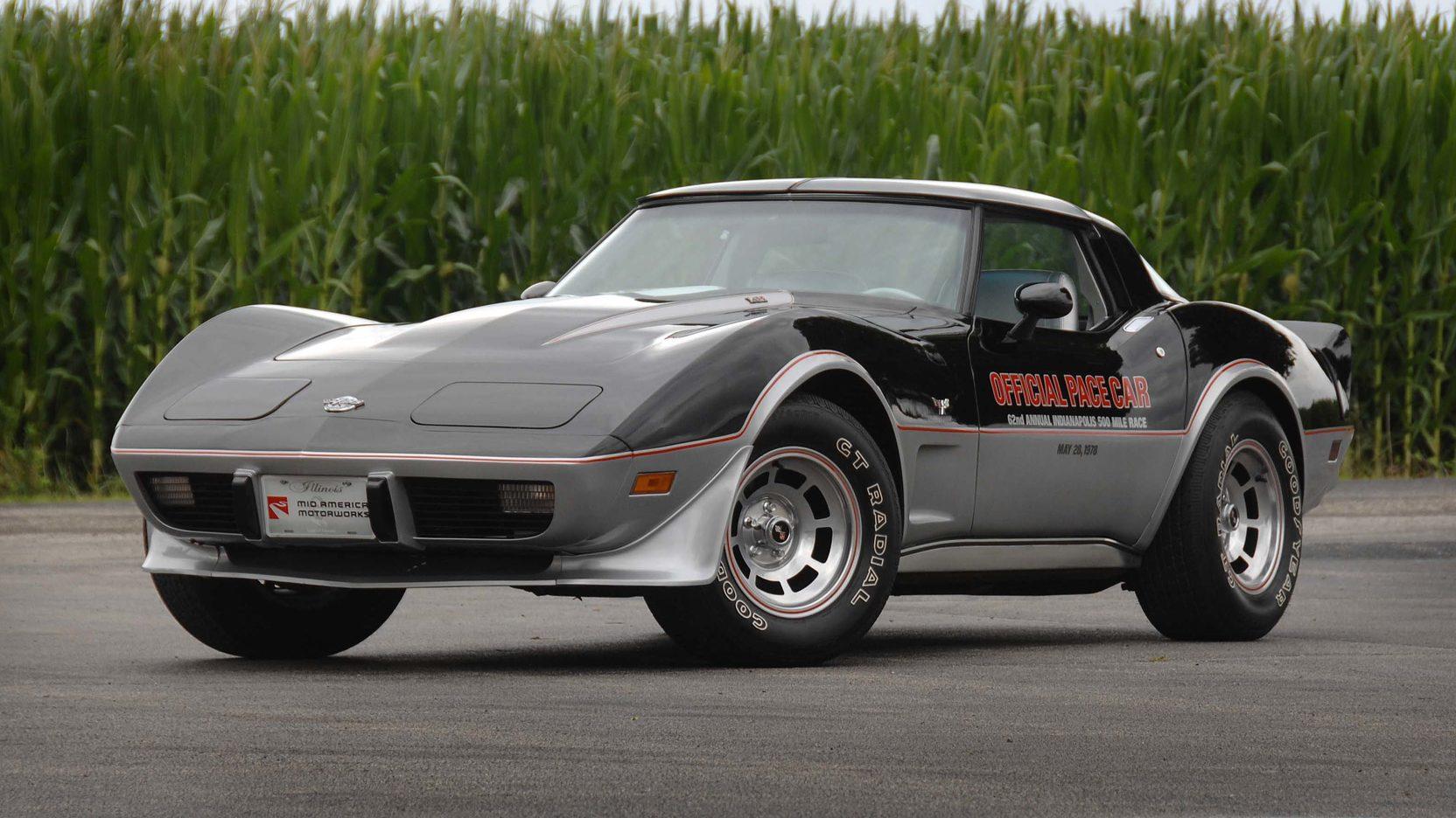 1978 Chevrolet Corvette Pace Car Edition front 3/4