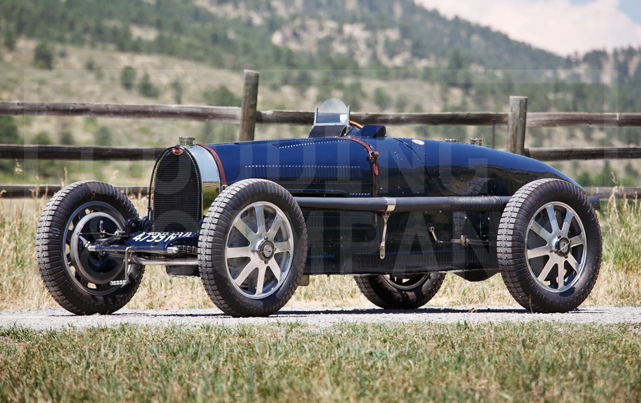 1931 Bugatti Type 51 Grand Prix front 3/4