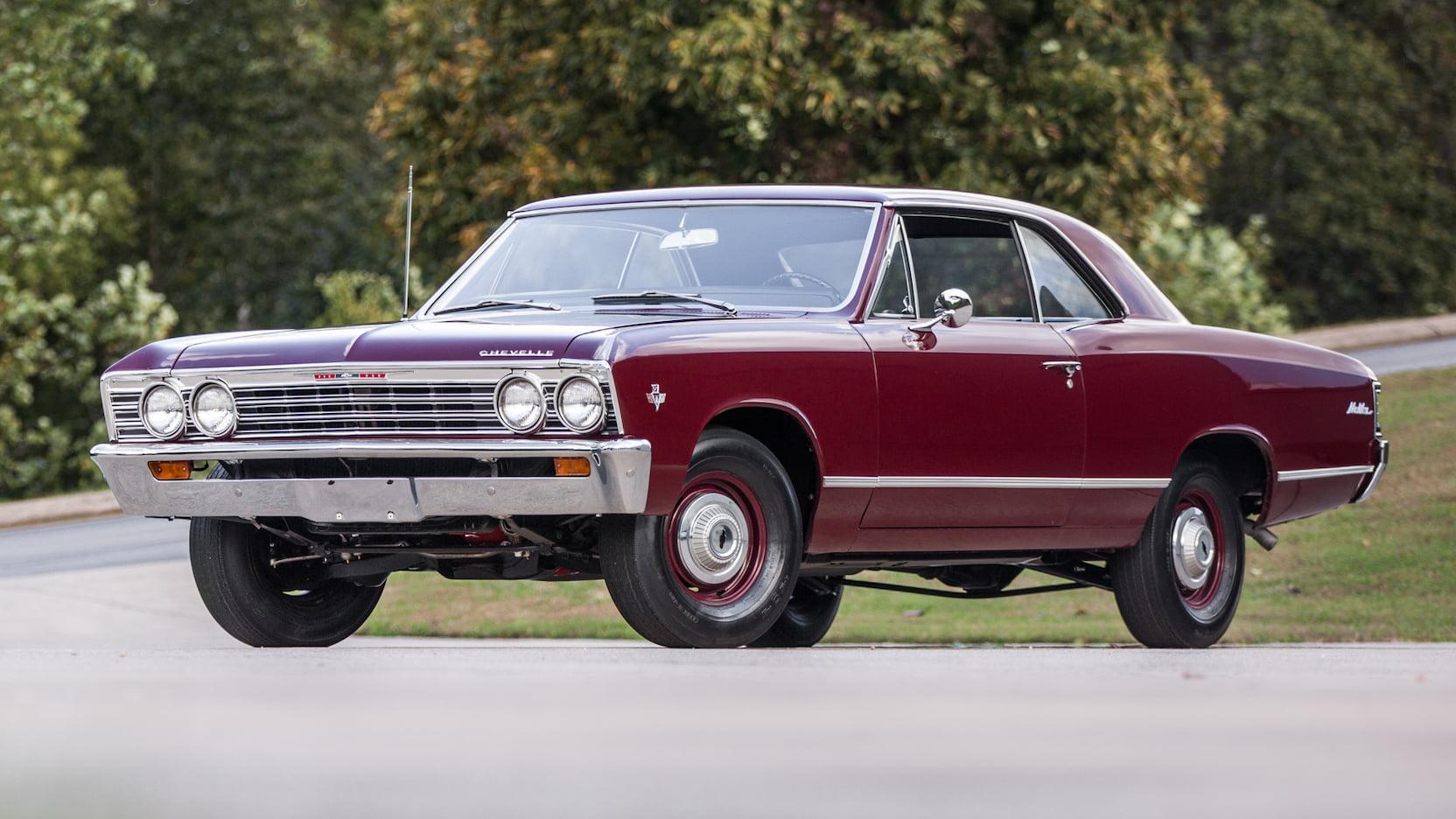 1966 Chevrolet Chevelle Malibu front 3/4 l79