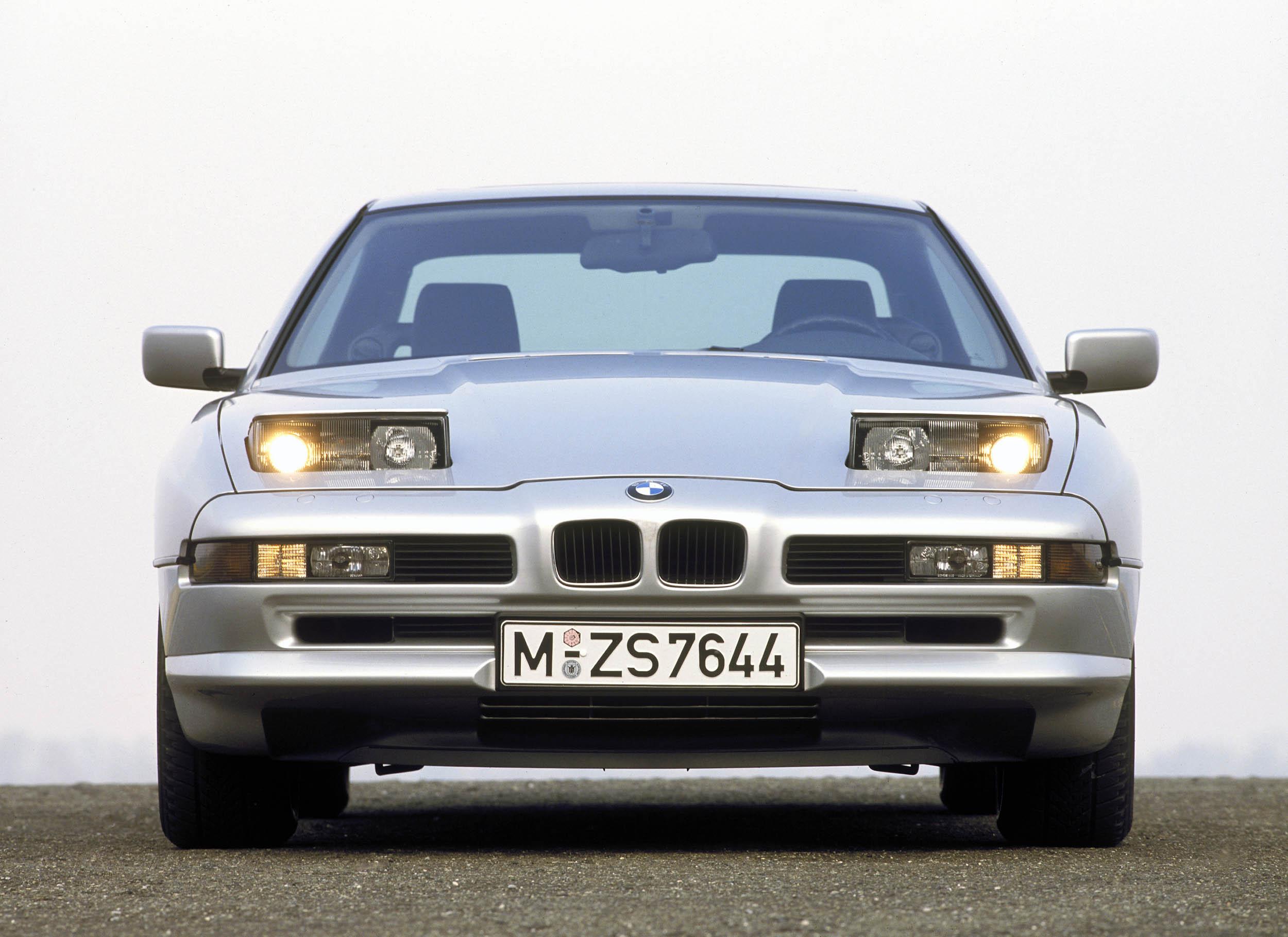 1989 BMW 850i front