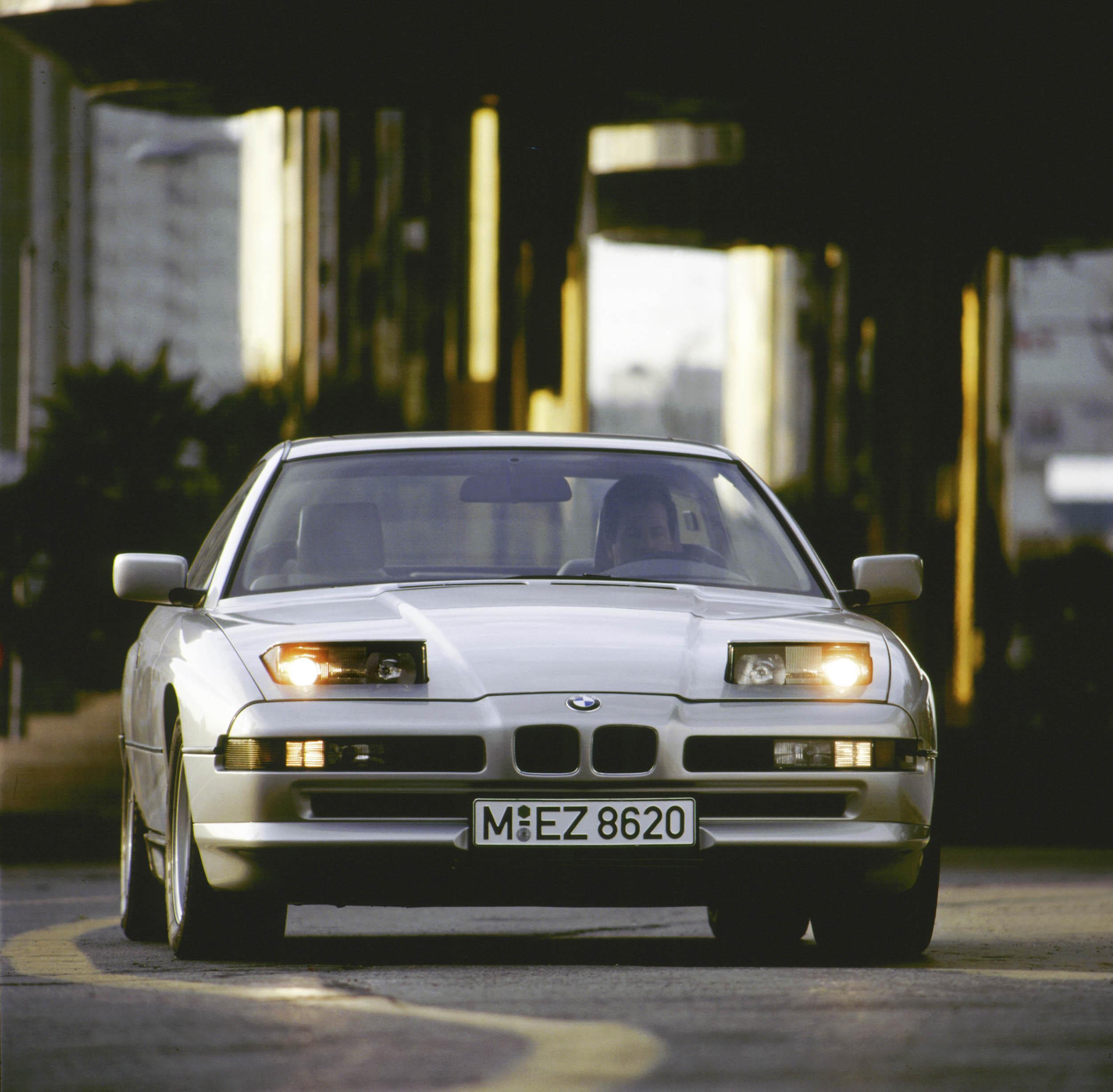 1993 BMW 840ci front