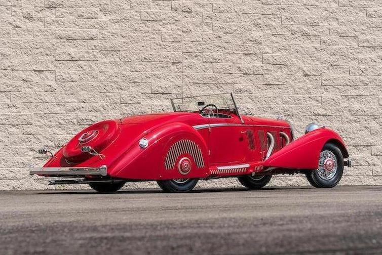1937 Mercedes-Benz 540K Sports Roadster