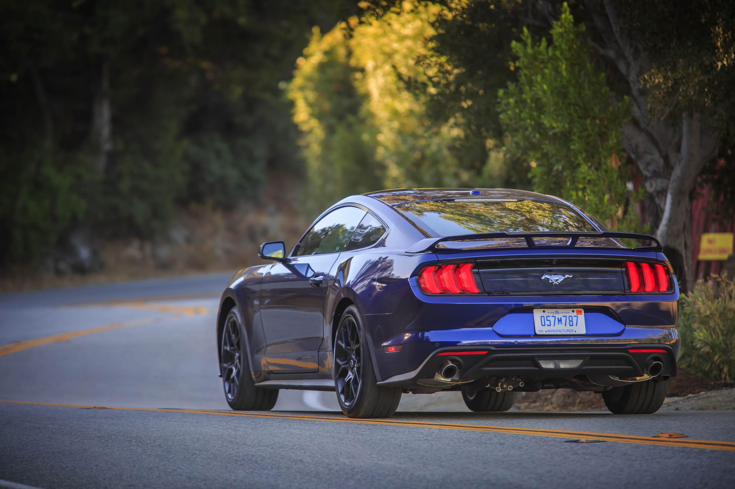 2018 Kona Blue Mustang