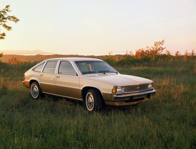 1980 Chevrolet Citation front 3/4 field