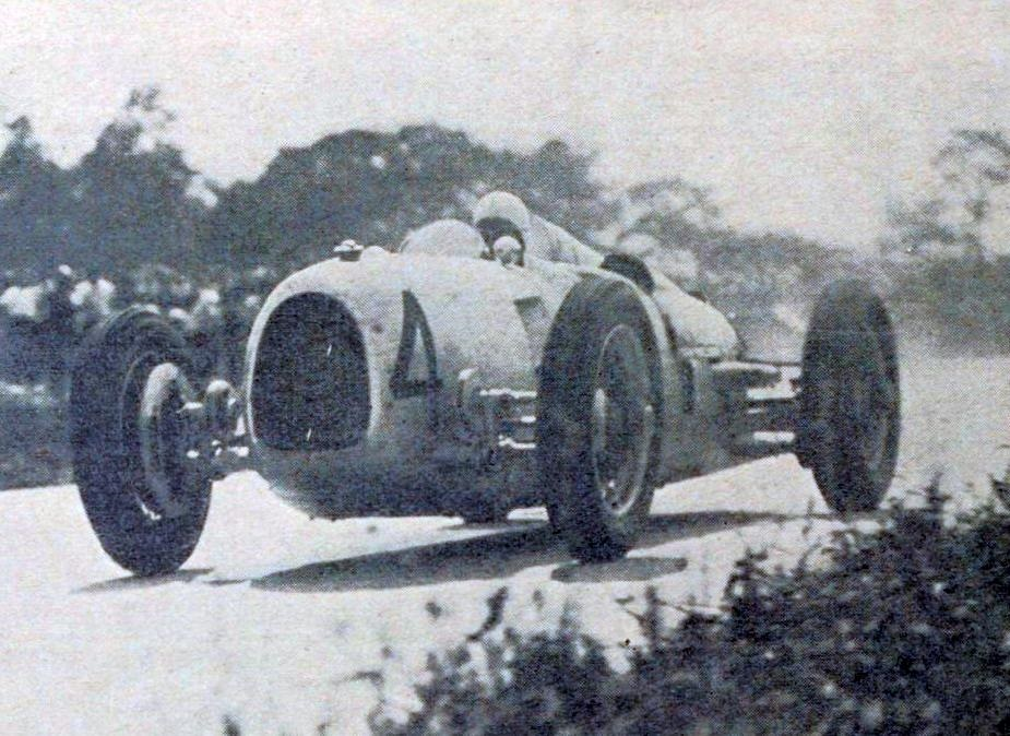 1934 Auto Union Type A racing