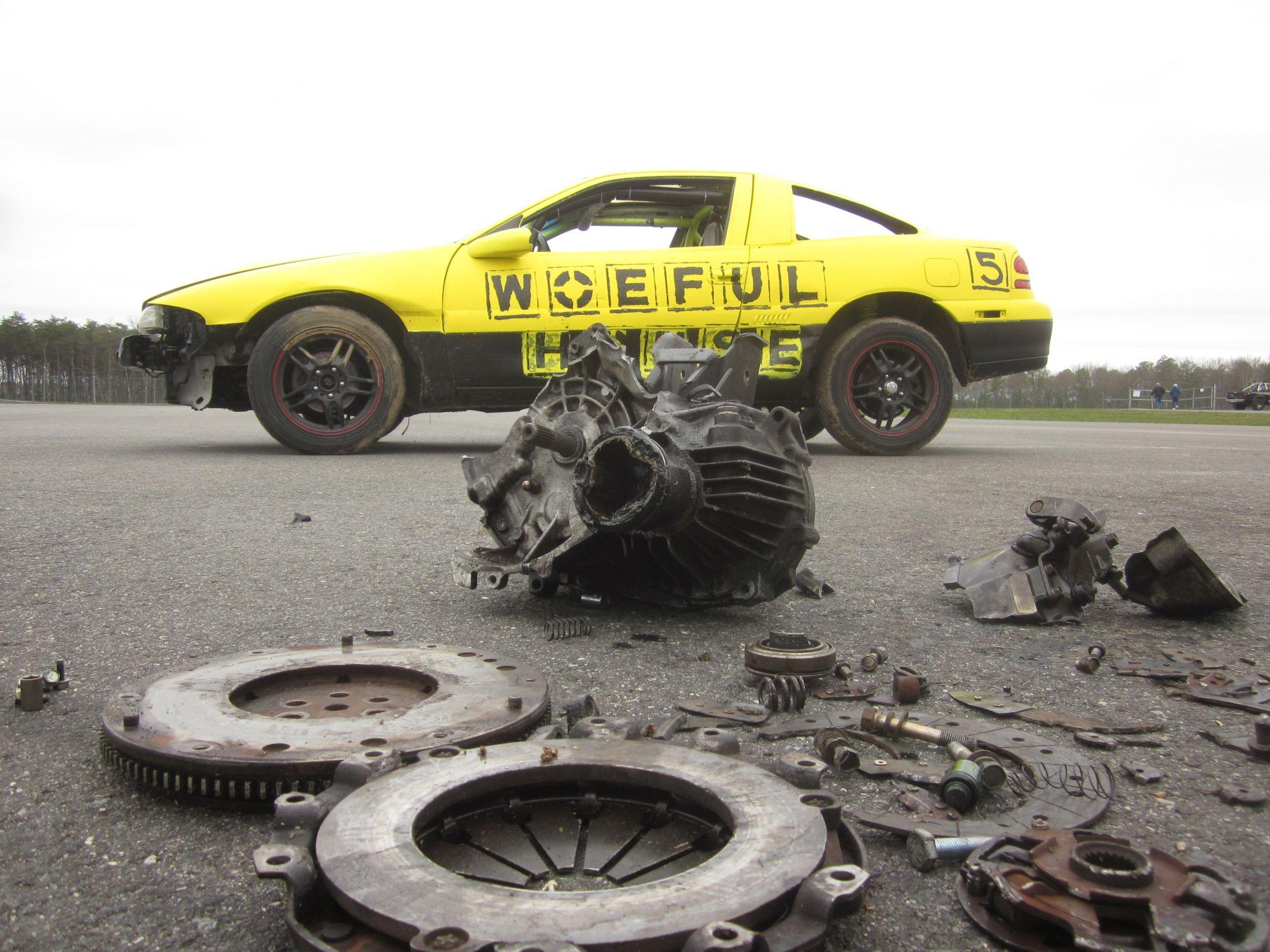 """woeful"" car at 24 Hours of Lemons"