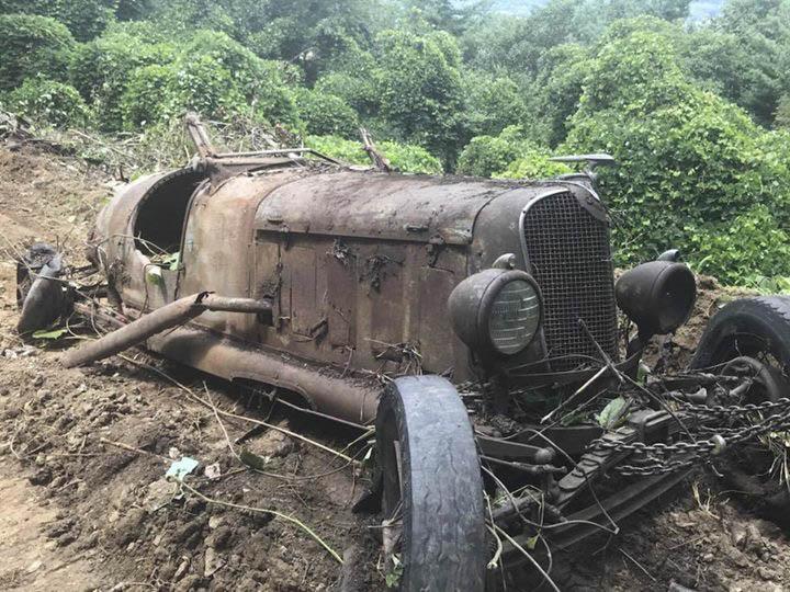 Speedster found in a field