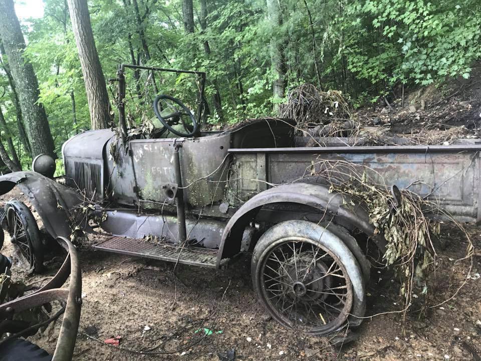Classic Pickup found in field