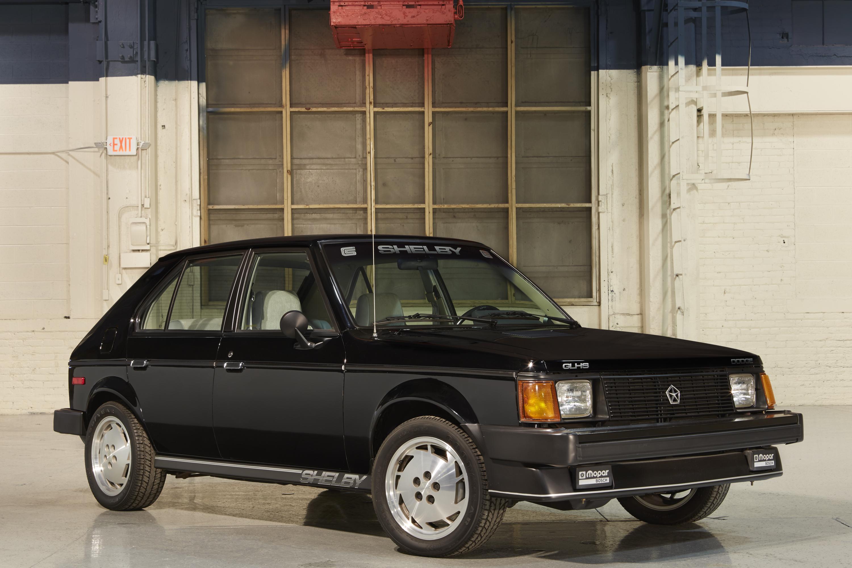 1986 Dodge Omni GLH-S front 3/4