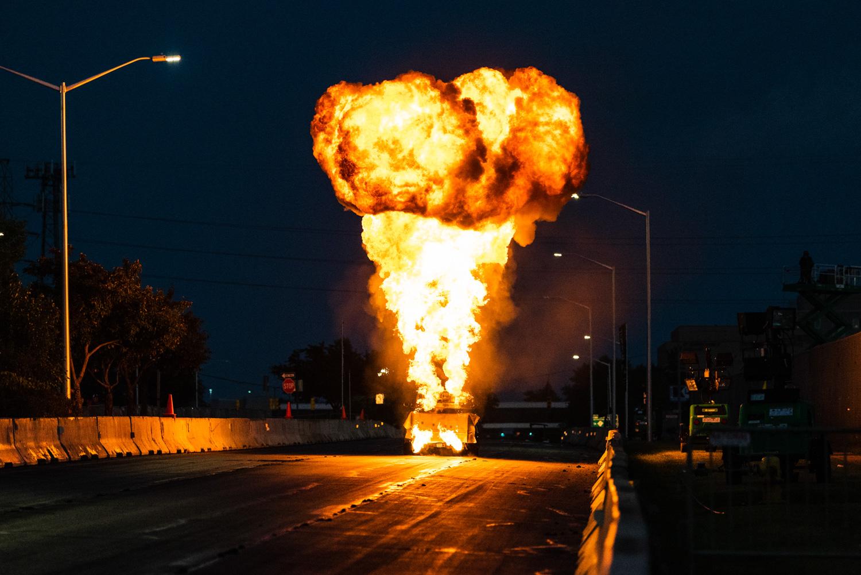Roadkill Nights 2018 flamethrower