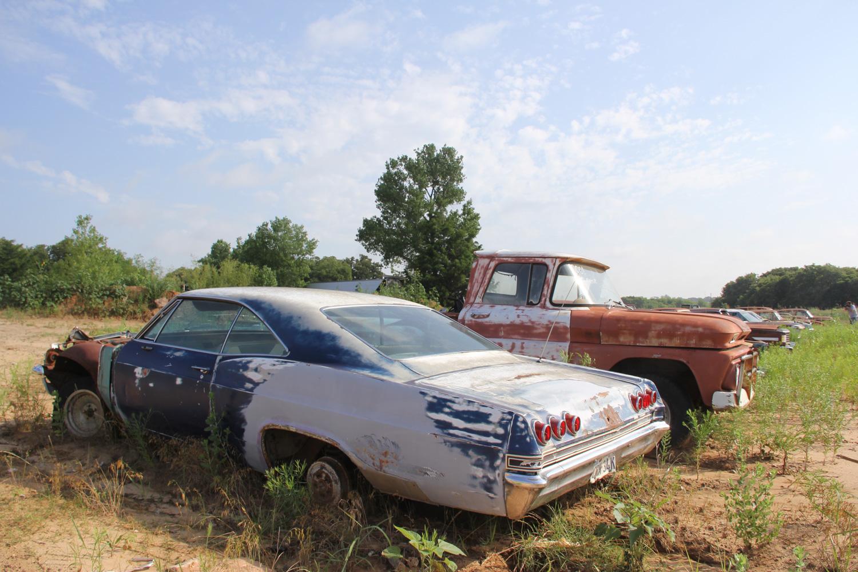 b body impala desert find junkyard