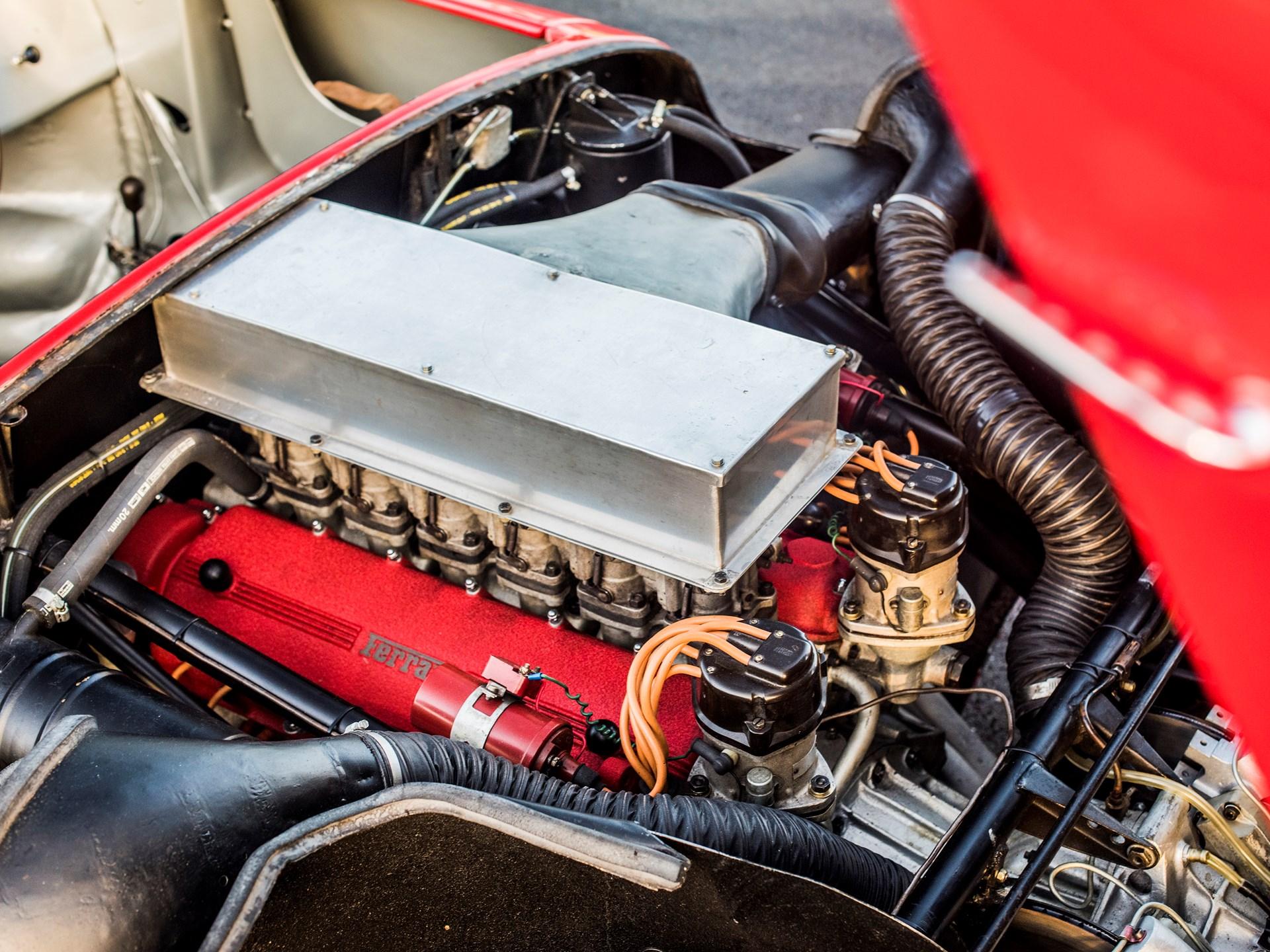 1963 Ferrari 275P  engine and carbs