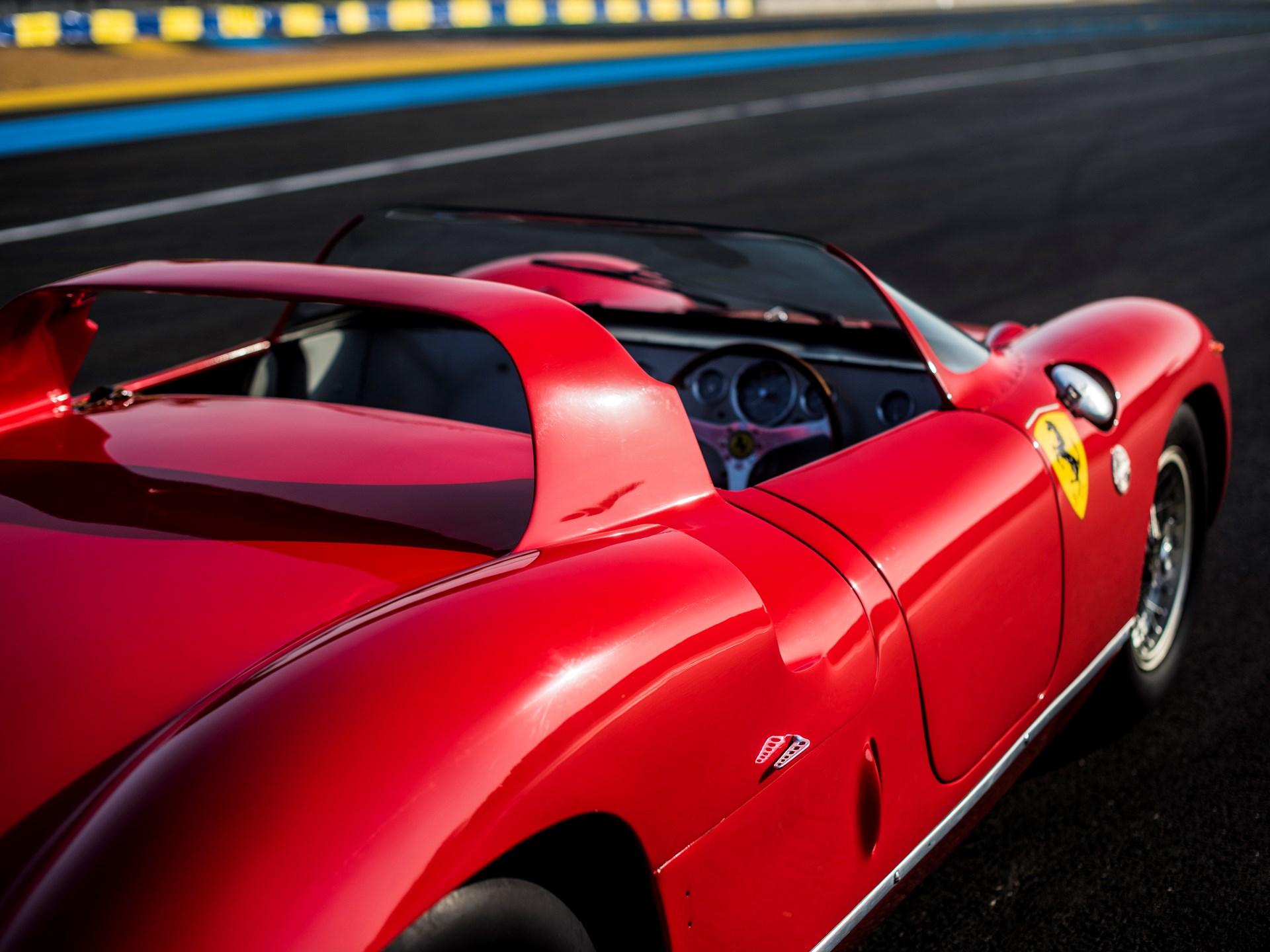 1963 Ferrari 275P Rear view interior