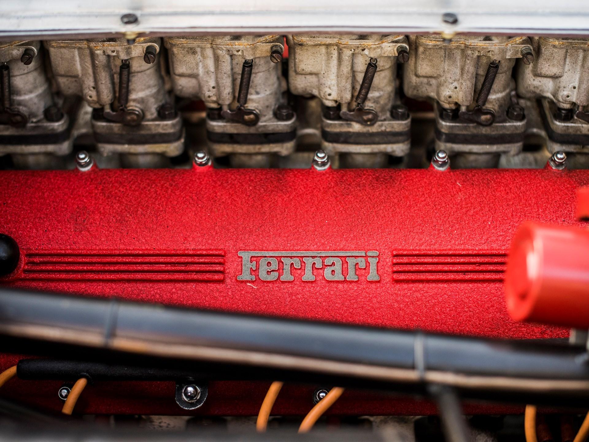 1963 Ferrari 275P valve covers