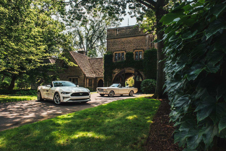 Million Mustang Reunion edsel house front vines