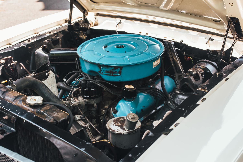 Mustang 001 engine