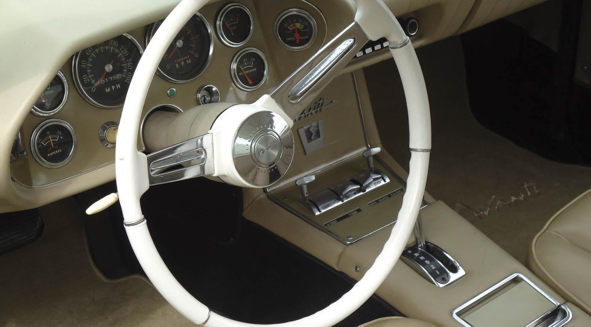 1963 Studebaker Avanti dash