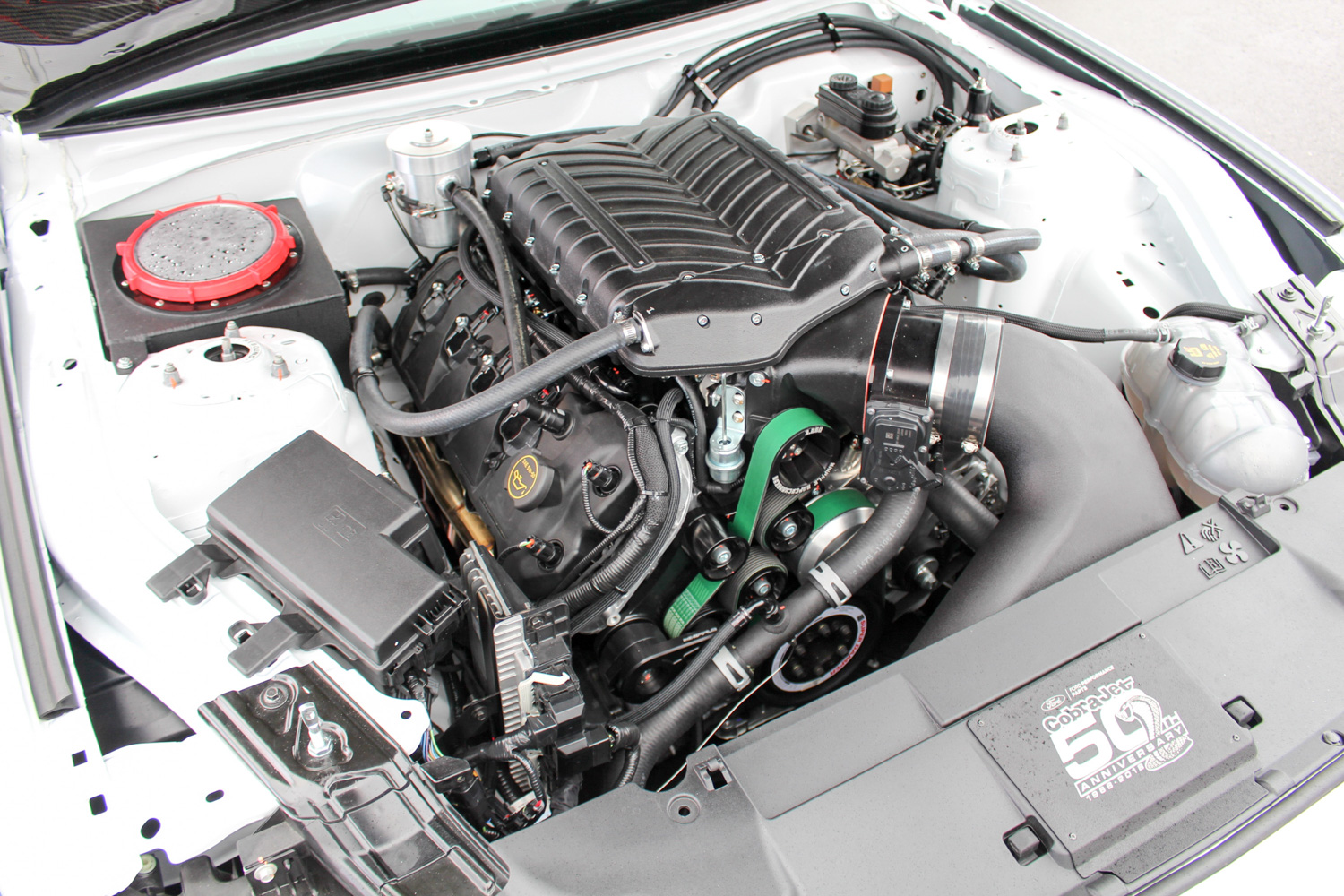 2018 Ford Mustang Cobra Jet engine
