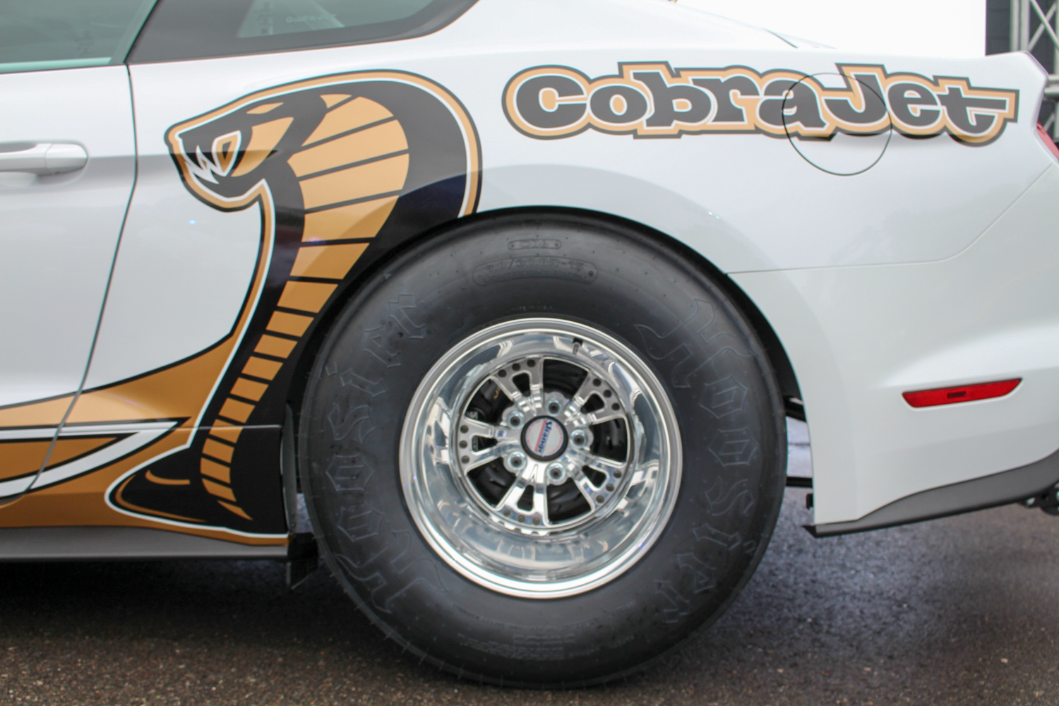 2018 Ford Mustang Cobra Jet rear tire