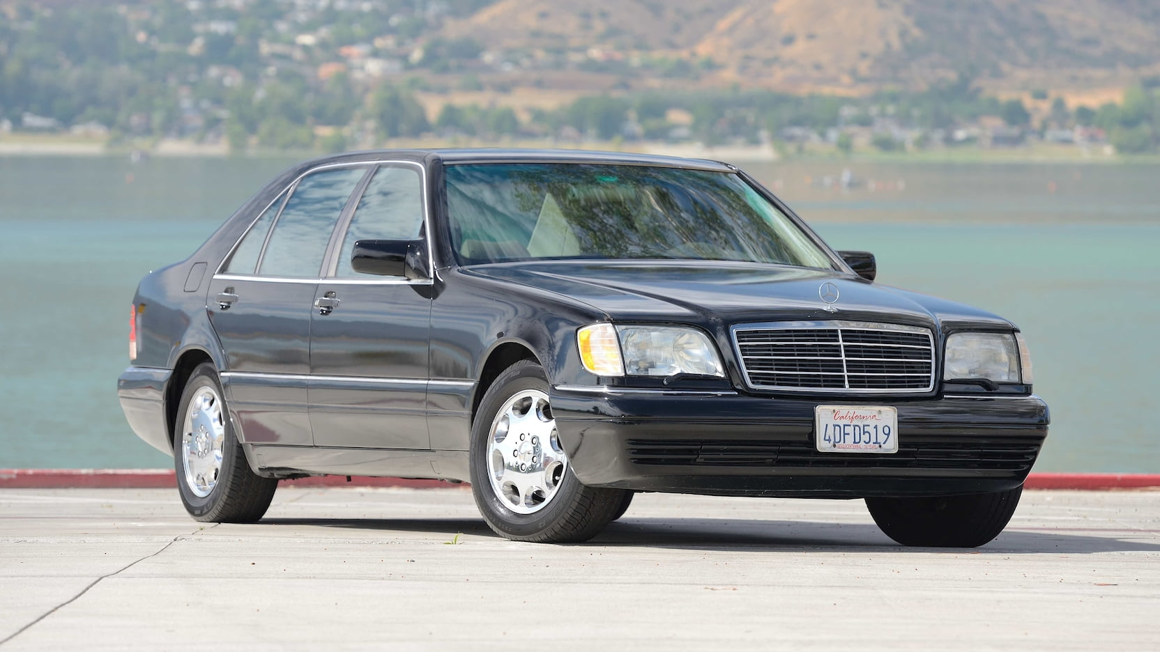 1995 Mercedes-Benz S Class W123456789 chassis code