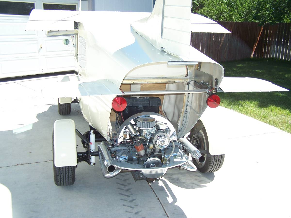 1968 VW Beetle/1959 Cessna 172 rear engine