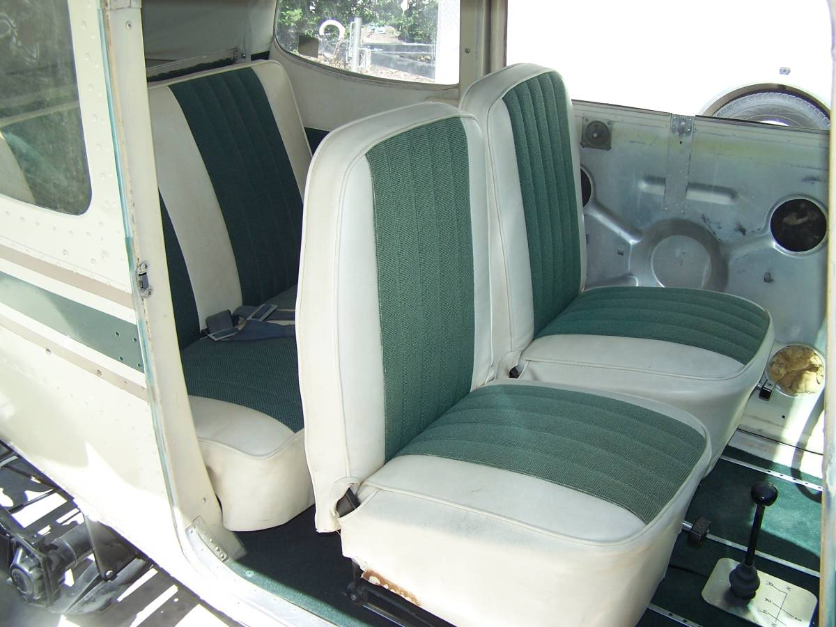 1968 VW Beetle/1959 Cessna 172 interior seats
