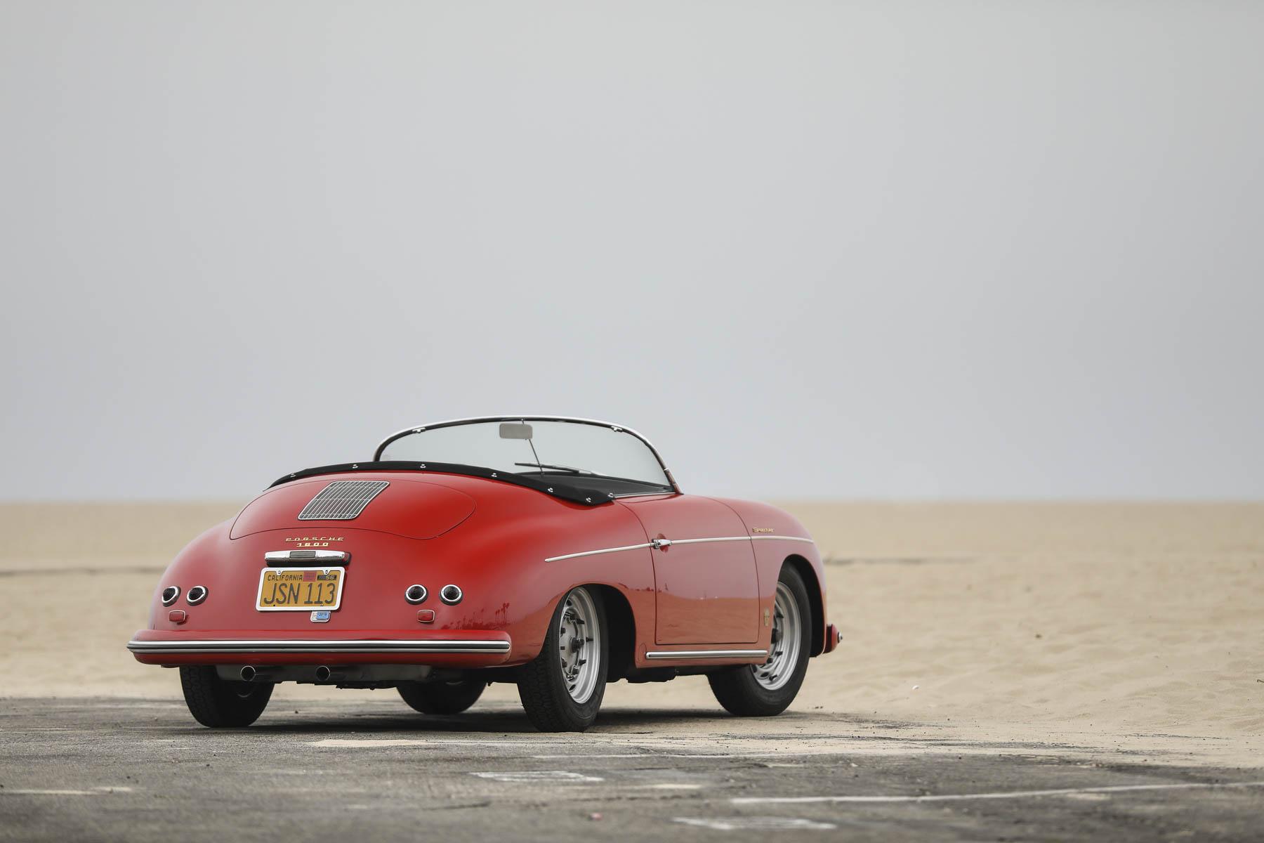 1957 Porsche 356 A Speedster rear 3/4