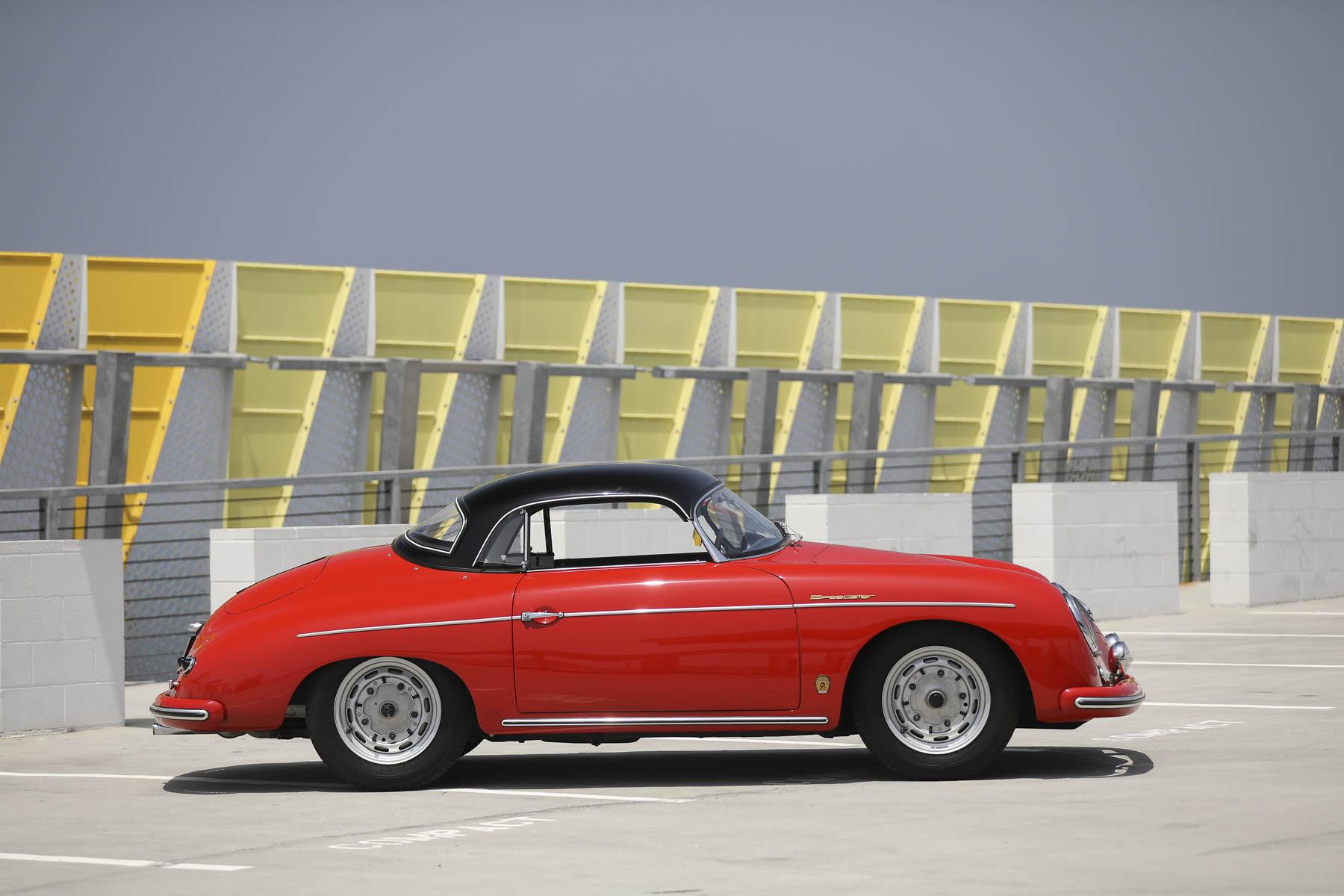 1957 Porsche 356 A Speedster profile