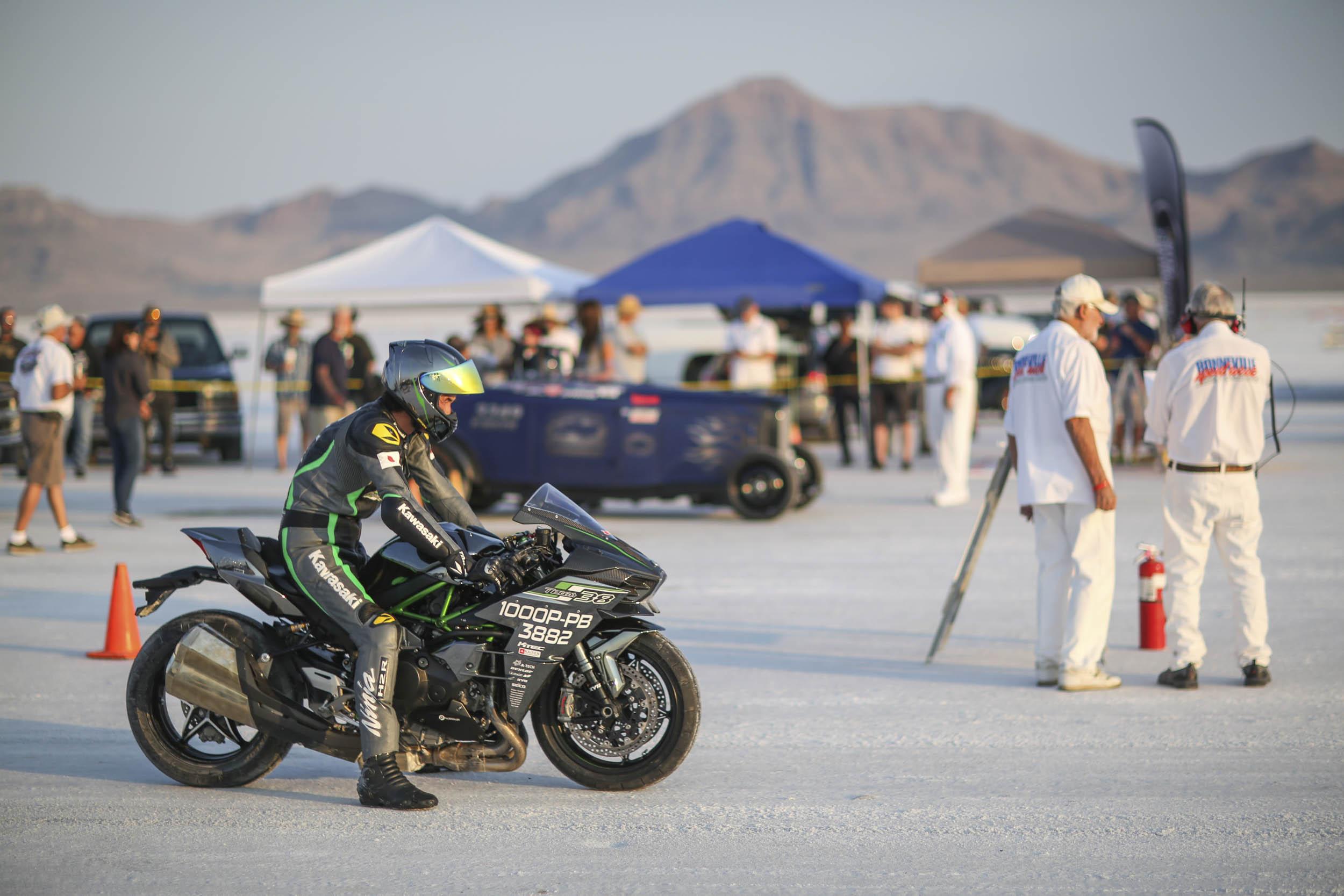 Motorcycle racing at Speedweek 2018