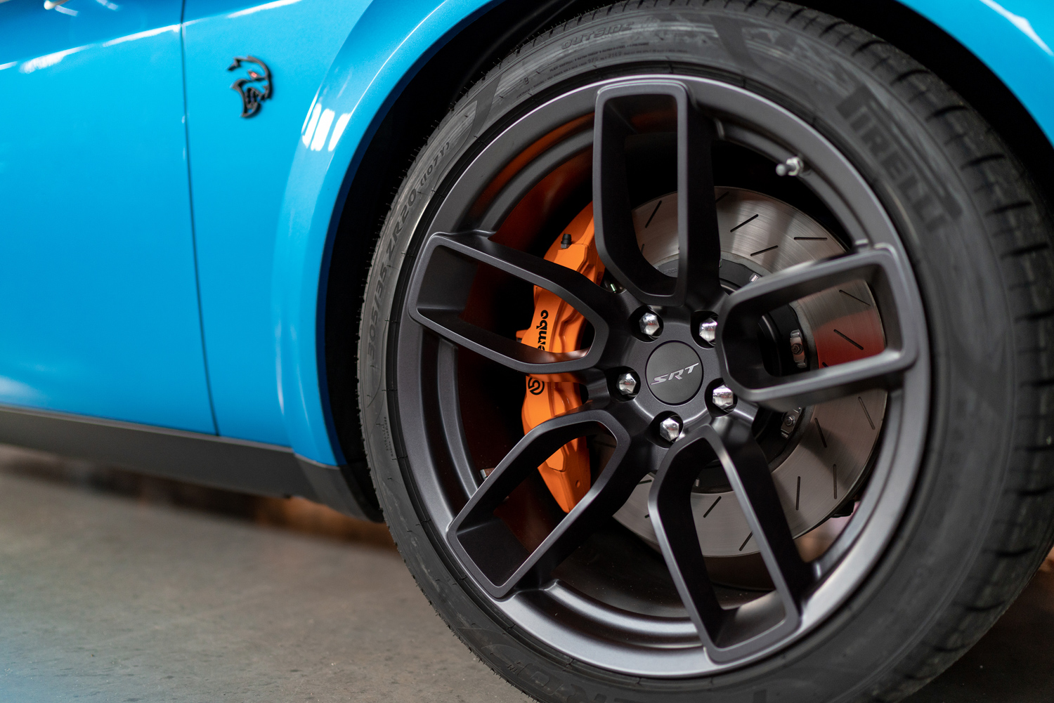 2019 Challenger SRT Hellcat Redeye Widebody wheels